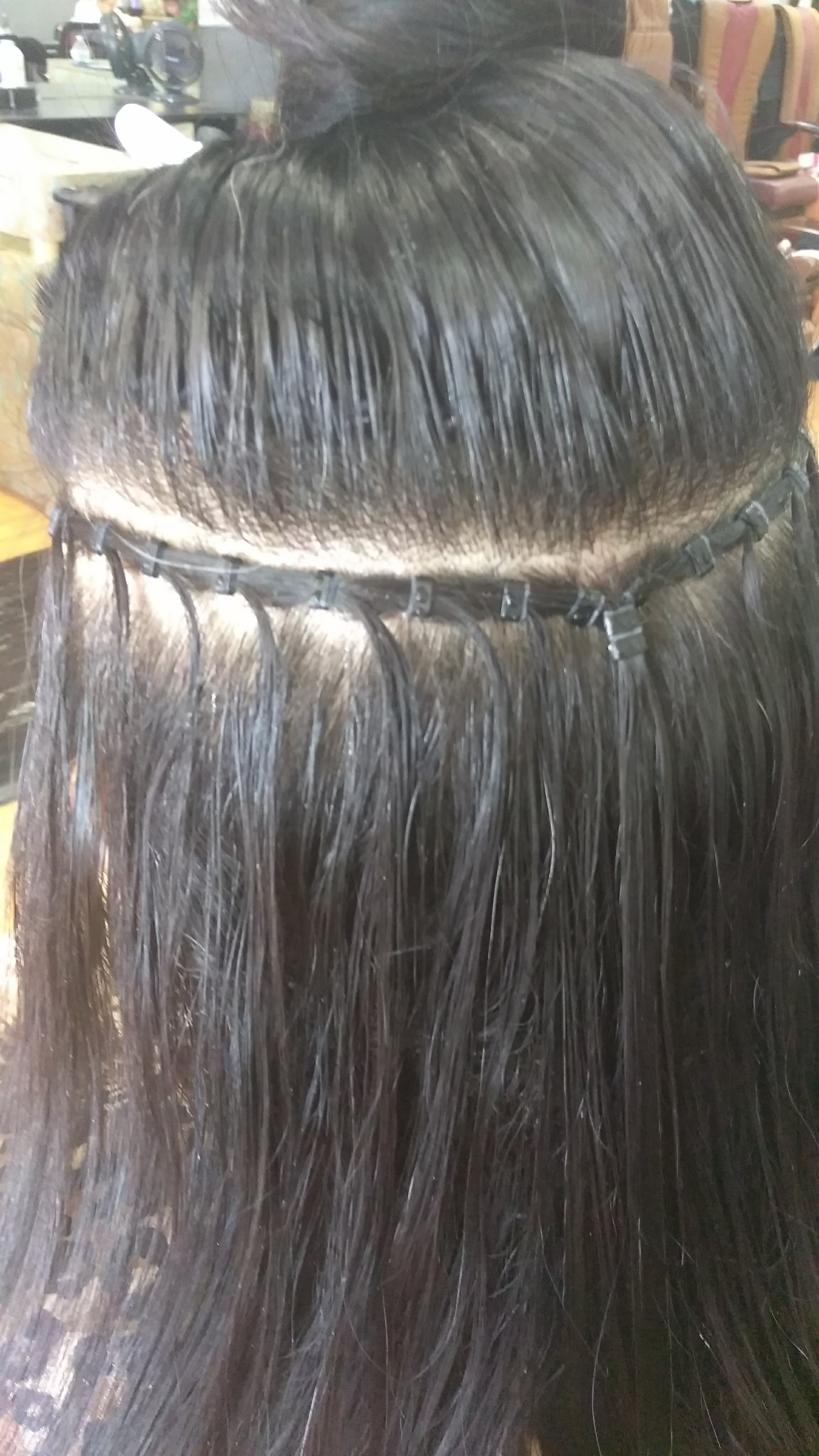 Beaded Row Track Hair Extensions Hair Extensions By Tina